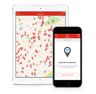 Boingo Wi-Finder App for iPhone & iPad