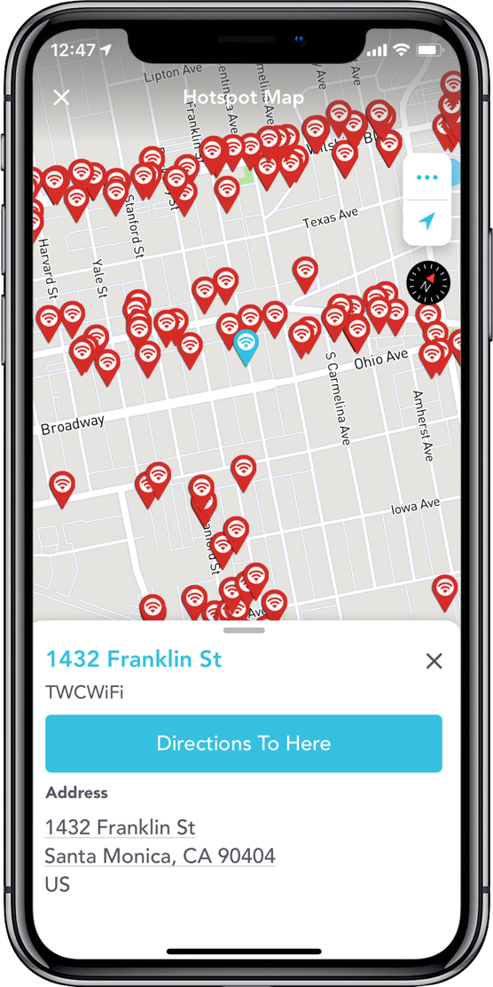 Video demonstration of Boingo's Wi-Finder mobile app