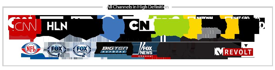 Boingo TV Channels